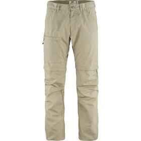 Fjällräven High Coast Pantalones Zip-Off Hombre, beige